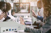 Converge Huddle in einer Videokonferenz