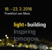 Siegelmarke der Light+Building 2018