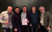 """MediasPro ist """"European Distributor of the Year 2019"""" von Renkus-Heinz"""