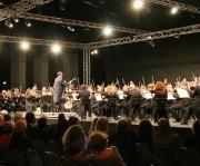 Orchesterkonzert der Sächsischen Staatskappelle mit Dirigent Christian Thielemann Ende August 2013