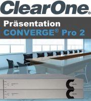 Präsentation ClearOne CONVERGE PRO 2