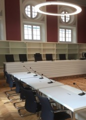 Schwurgerichtssaal des Landgerichts Amberg