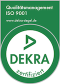 Siegel Qualitätsmanagement ISO 9001