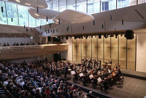 Andermatt Konzerthalle © Monika Rittershaus