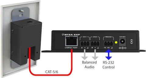 Attero Tech unBT2A Anschlussdiagramm